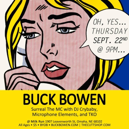 Buck Bowen's Return: Catch Him at Milk Run on Thursday